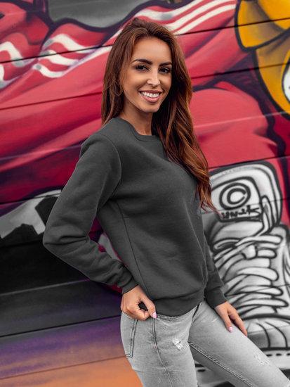 Bluza damska grafitowa Denley W01