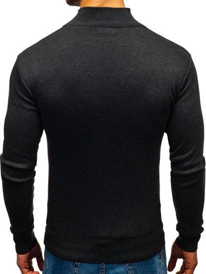 Sweter męski grafitowy Denley BM6043