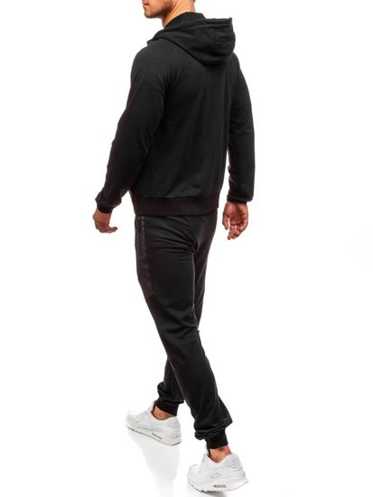 Dres męski czarny Denley 0481