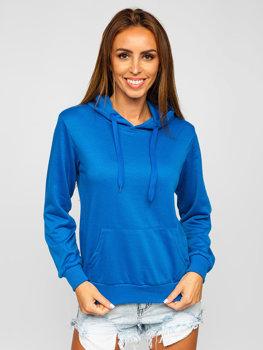 Bluza damska błękitna Denley W02
