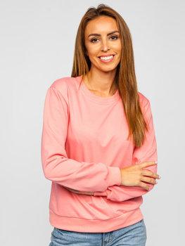 Bluza damska ciemnoróżowa Denley WB11002