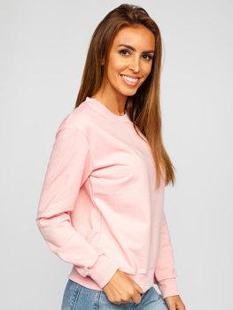 Bluza damska jasnoróżowa Denley WB11002