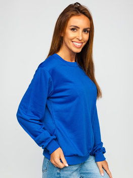 Bluza damska kobaltowa Denley WB11002