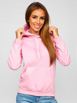 Bluza damska różowa kangurka Denley W02