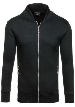 Bluza męska bez kaptura czarna Denley 005