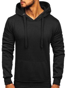 Bluza męska z kapturem czarna Denley 2009