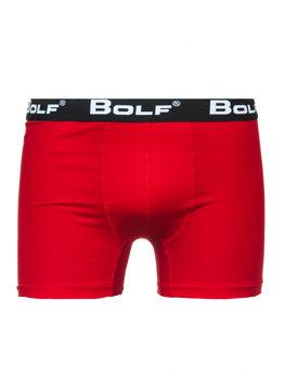 Bokserki męskie czerwone Bolf 0953