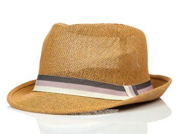 Kapelusz męski brązowy Denley KAP214