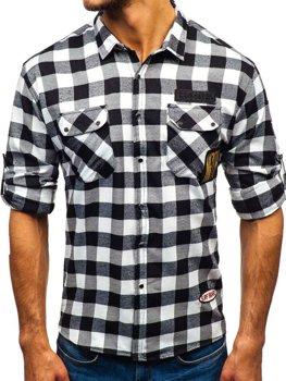Koszule flanelowe męskie kolekcja 2020 │ Denley.pl