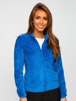 Niebieska polarowa bluza damska Denley HH001