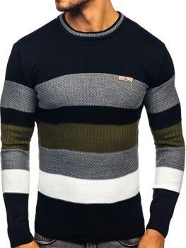 Sweter męski czarny Denley 04