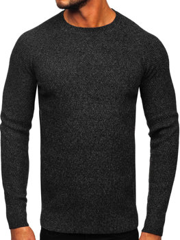 Sweter męski czarny Denley H1810