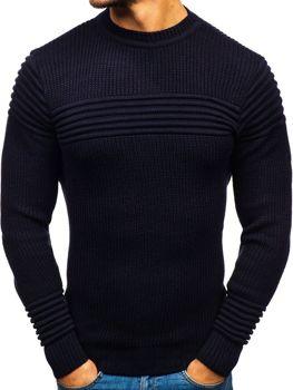 Sweter męski granatowy Denley 6004