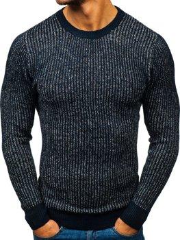 Sweter męski granatowy Denley H1818