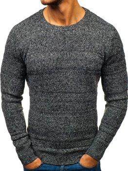 Sweter męski szary Denley H1805