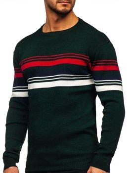 Zielony sweter męski Denley H2061