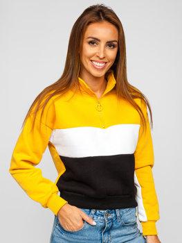 Żółta bluza damska Denley KSW2021