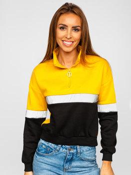 Żółta bluza damska Denley KSW2022