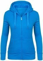 Bluza damska błękitna Denley AK50