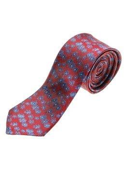 Elegancki krawat męski bordowy Denley K107