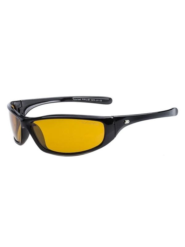Okulary przeciwsłoneczne polaryzacyjne czarne Denley PLS114