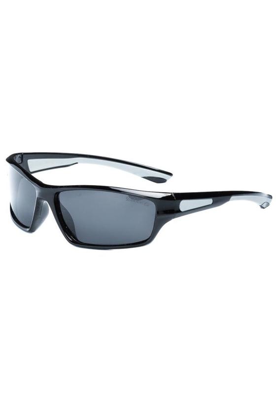 Okulary przeciwsłoneczne polaryzacyjne czarno-szare Denley PLS002A