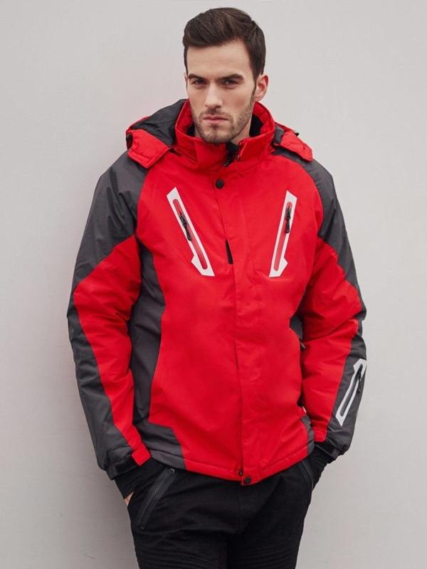 Stylizacja nr 405 - kurtka narciarska, spodnie joggery