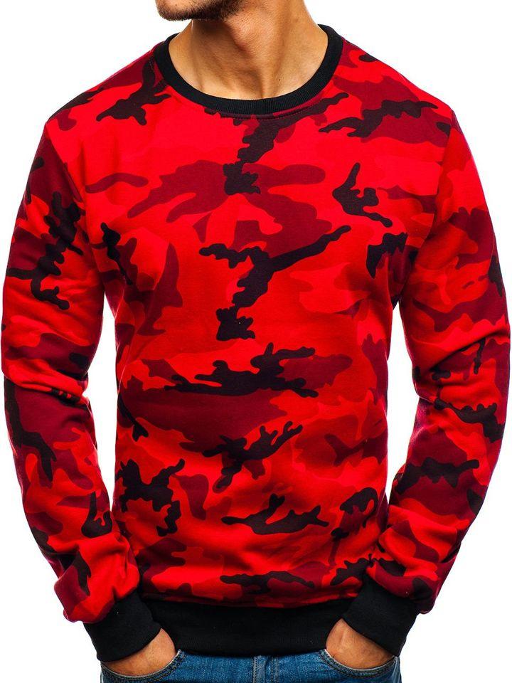 bluza moro czerwona t shirt