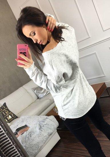 Bluza damska biała Denley 6707