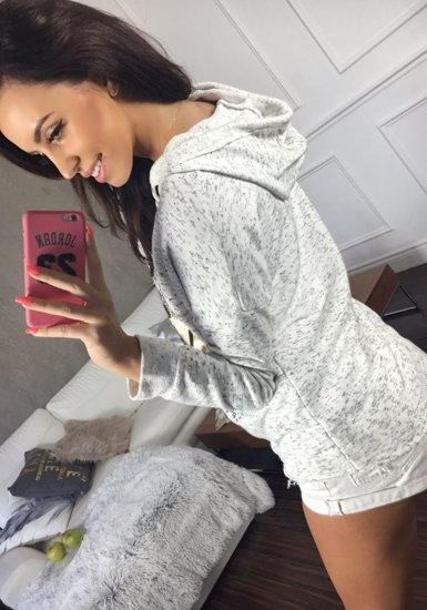 Bluza damska biała Denley 6712