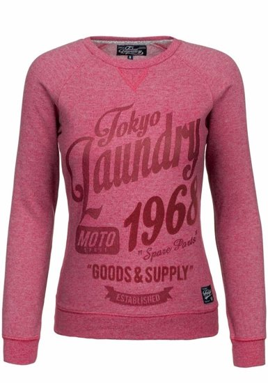 Bluza damska czerwona Denley 4798