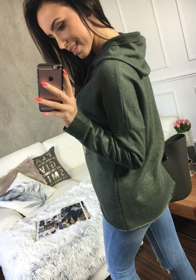 Bluza damska khaki Denley 6712