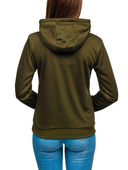 Bluza damska khaki Denley WB11001-A