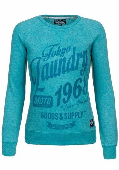 Bluza damska miętowa Denley 4798