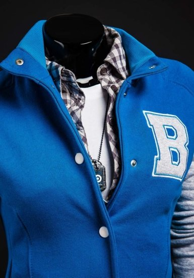 Bluza damska niebieska Bolf 19