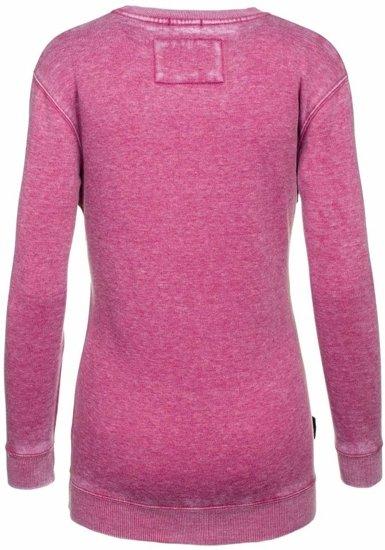 Bluza damska różowa Denley 6994