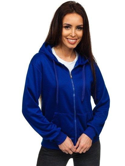 Bluza damska z kapturem kobaltowa Denley WB1005