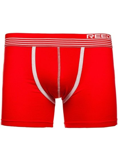 Bokserki męskie czerwone Denley G513
