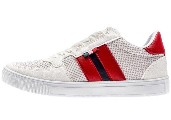 Buty męskie białe Denley 3027