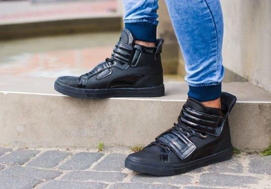 Buty męskie czarne Denley 3001