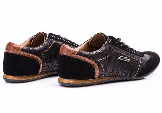 Buty męskie czarne Denley 614B