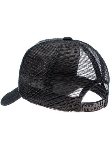 Czapka z daszkiem czarna Denley 39
