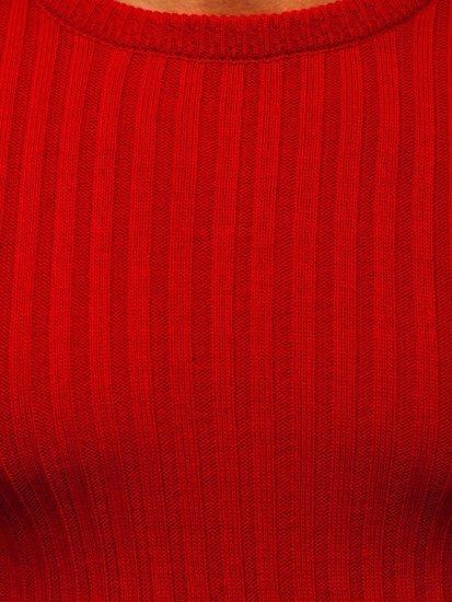 Czerwony sweter męski Denley 4603