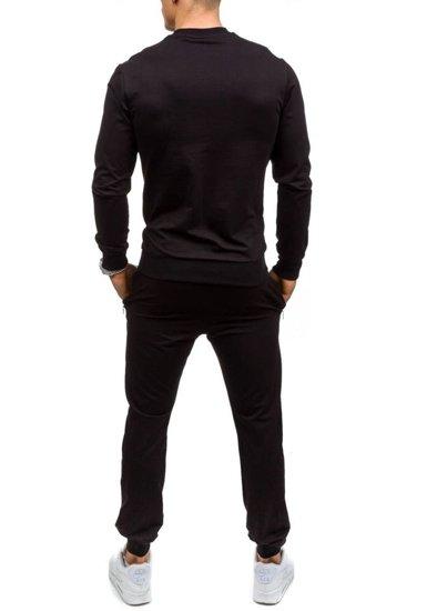 Dres męski czarny Denley 0362