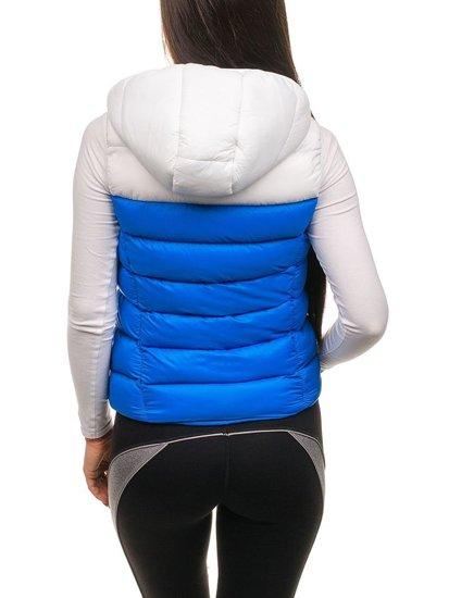 Kamizelka damska niebieska Denley 7054