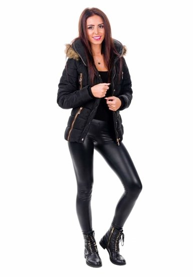 Kurtka damska 015C czarna