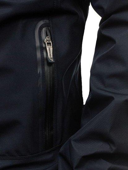 Kurtka męska przejściowa granatowa Denley 5505