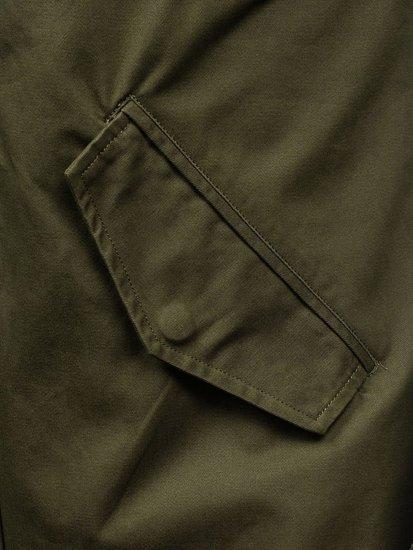 Kurtka męska przejściowa khaki Denley k318