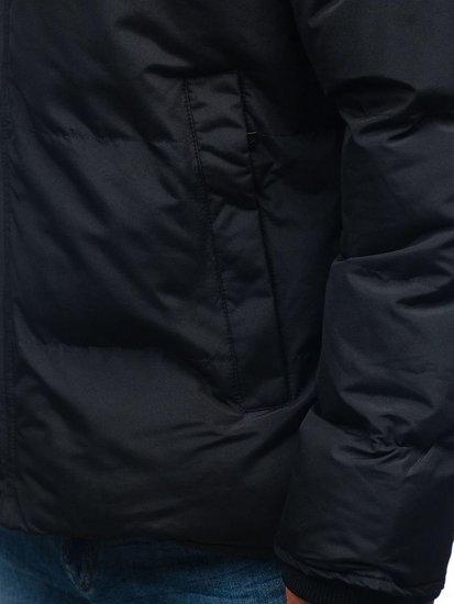 Kurtka męska zimowa czarna Denley 201820