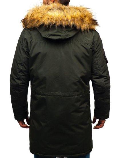 Kurtka męska zimowa khaki Denley 201812